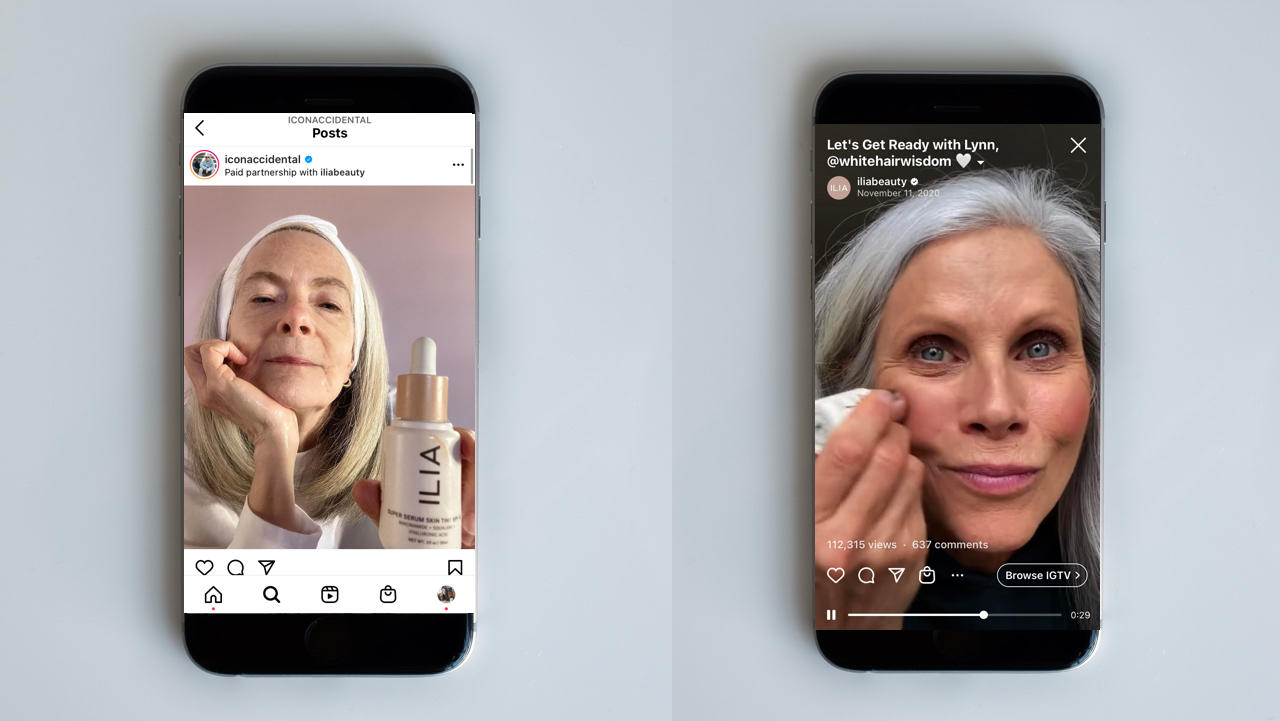 How influencers 50-plus are changing perceptions around age in beauty
