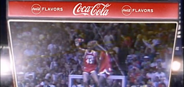 Coke ads insert different flavors into memorable basketball moments